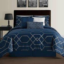 Hampton Geometric 7 Piece Comforter Set