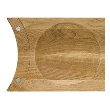 Oval Oak Mezzaluna