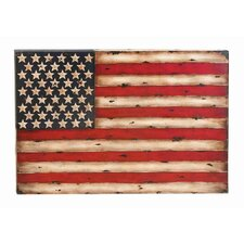 Toscana American Flag Replica Graphic Art