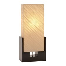 "Toscana 25.59"" H Table Lamp with Rectangular Shade"