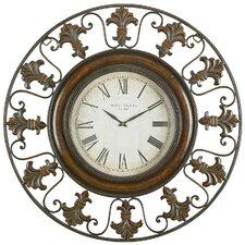 """Reynolds Oversized 38"""" Flower Wall Clock"""