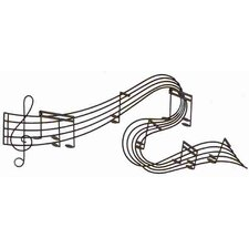 Toscana with Music Notes Wall Décor