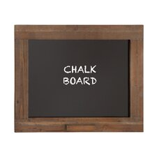 Wooden Frame with Chalkboard, 2' H x 2' W