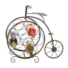 Zuniga Vintage Bicyclette 7 Bottle Tabletop Wine Rack