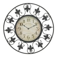 "23"" Metal Outdoor Wall Clock"