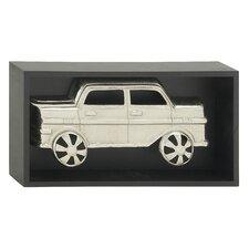 Aluminum and Wood Frame Wall Decor