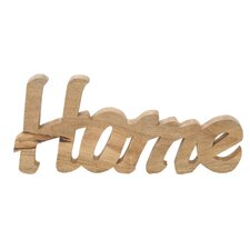 Wood Home Table Sign