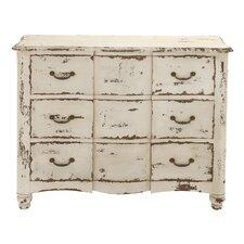 3 Drawer Wood Dresser