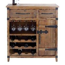12 Bottle Floor Wine Cabinet