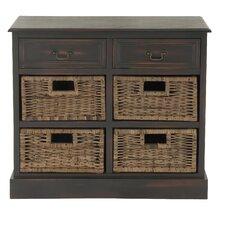 2 Drawer Wood Dresser