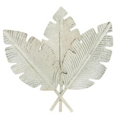 Stainless Steel Leaf Wall Décor