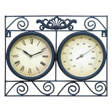 Outdoor Clock and Hygrometer