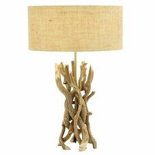 "Driftwood Metal 23"" H Table Lamp"