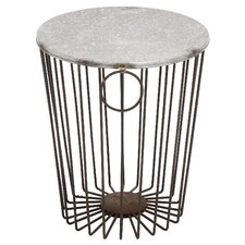 Metal and Wire Stool