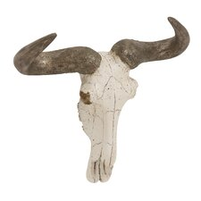 Steer Skull Bust Wall Décor