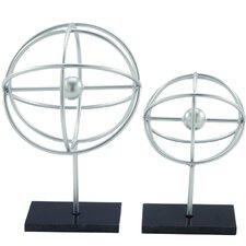2 Piece Ring Sculpture Set