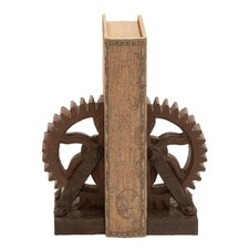 Gear Book Ends (Set of 2)
