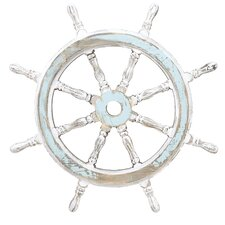 Decorative Wood Ship Wheel