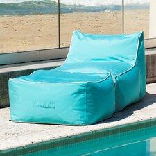 Sunbrella Bean Bag Lounger Set
