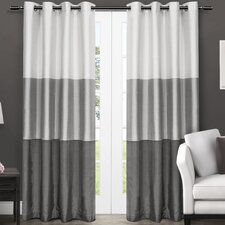Exclusive Home Light Filtering Curtain Panel (Set of 2)