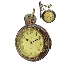Double Faced Hanging Clock