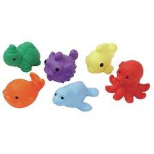 6 Piece Sea Critters Bean Bag Set