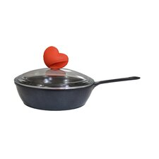 "8"" Non-Stick Omelette Pan with Lid"