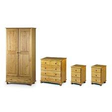 4-tlg. Schlafzimmer-Set Woodward