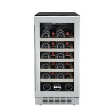 25 Bottle Single Zone Built-In Wine Refrigerator