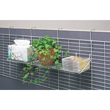 Hook-on Partition Accessory Shelf