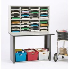 32 Pocket Sorter with Tote Sorting