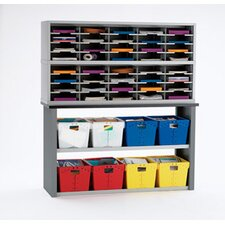 40 Pockets Sorter Tote Sorting