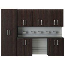 6' H x 8'W 7 Piece Cabinet Set