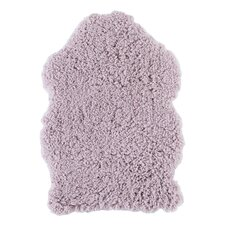 Handgetufteter Teppich Plushy in Mauve