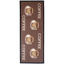 Läufer Kaffee in Braun