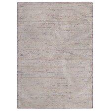 Handgewebter Teppich Cary in Bunt/ Beige