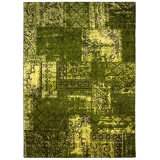 Teppich Boloi in Grün