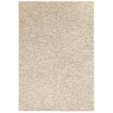 Handgefertigter Teppich Pali in Creme