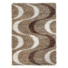 Handgetufteter Teppich Faenza in Braun/Beige