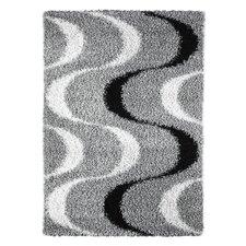 Handgetufteter Teppich Faenza in Grau