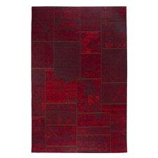 Teppich Barock in Rot