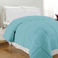 Solid Microfiber Down Alternative Comforter