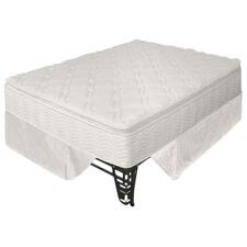 "12"" Euro Box Top Spring Mattress & Steel Foundation Set"
