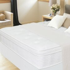 "13"" Euro Box Top iCoil Mattress and Steel Foundation Set"