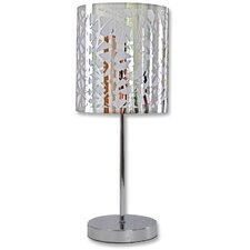 "Nice 25.6"" H Table Lamp with Drum Shade"