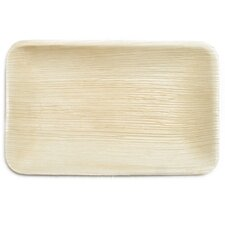"9"" Compostable and Sustainable Fallen Palm Leaf Plate (Set of 10)"
