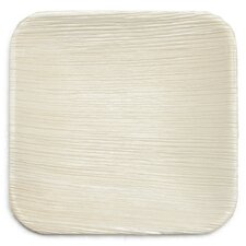 "6"" Eco Fallen Palm Leaf Appetizer Plate (Set of 100)"