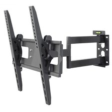 Neigbare Doppelarm-Wandhalterung für 65 cm - 137,5 cm Flachbildschirme