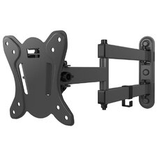 """Double Arm Tilt Wall Mount for 13""""-27"""" Flat Panel Screens"""