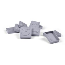 Letter Pressed Numbers Cookie Stamps